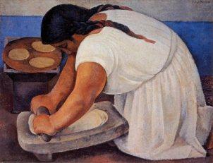 Diego Rivera, La molendera